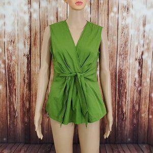 Ann Taylor Blouse 6 Green